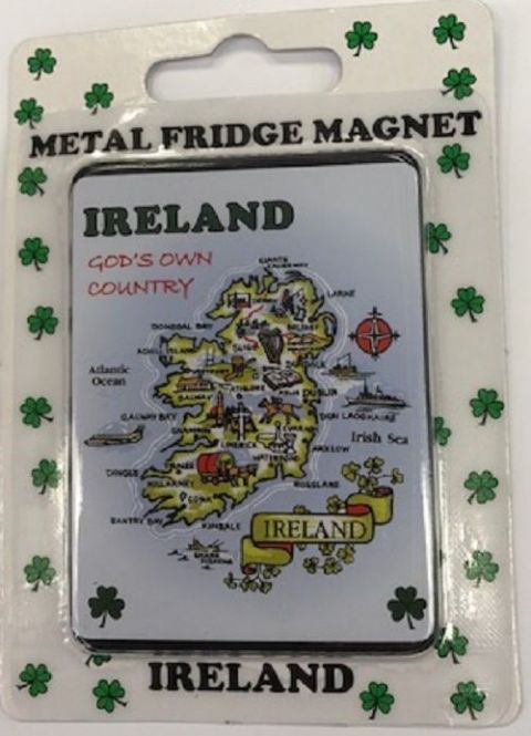 Liffey Artefacts Irish Magnet - Gods Own Country